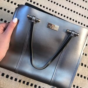 Soft metallic Kate Spade bag
